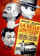 La belle Américaine - French Movie Poster (xs thumbnail)