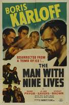 The Man with Nine Lives - Movie Poster (xs thumbnail)