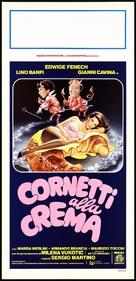Cornetti alla crema - Italian Movie Poster (xs thumbnail)