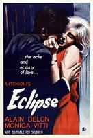 L'eclisse - Australian Movie Poster (xs thumbnail)