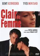 Clair de femme - French DVD cover (xs thumbnail)