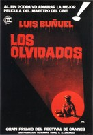 Los olvidados - Spanish Theatrical poster (xs thumbnail)