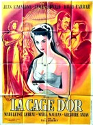 Cage of Gold - French Movie Poster (xs thumbnail)