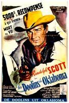 The Doolins of Oklahoma - Belgian Movie Poster (xs thumbnail)