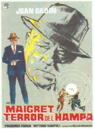 Maigret voit rouge - Spanish Movie Poster (xs thumbnail)