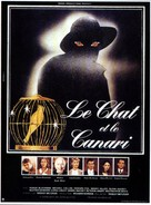 The Cat and the Canary - French Movie Poster (xs thumbnail)