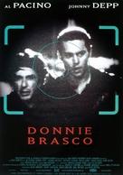 Donnie Brasco - German Movie Poster (xs thumbnail)