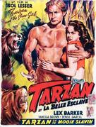 Tarzan and the Slave Girl - Belgian Movie Poster (xs thumbnail)