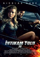 Drive Angry - Turkish Movie Poster (xs thumbnail)