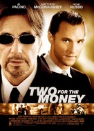 Two For The Money - Movie Poster (xs thumbnail)