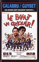 Le bahut va craquer - French VHS movie cover (xs thumbnail)