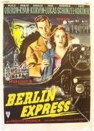 Berlin Express - German Movie Poster (xs thumbnail)