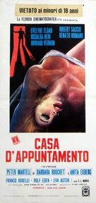 Casa d'appuntamento - Italian Movie Poster (xs thumbnail)