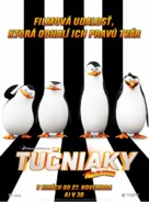 Penguins of Madagascar - Slovak Movie Poster (xs thumbnail)