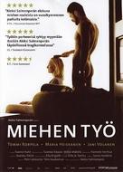 Miehen työ - Finnish Movie Poster (xs thumbnail)