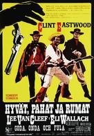 Il buono, il brutto, il cattivo - Finnish Movie Poster (xs thumbnail)
