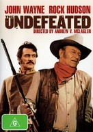 The Undefeated - Australian Movie Cover (xs thumbnail)