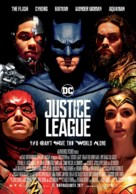 Justice League - Finnish Movie Poster (xs thumbnail)