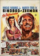 Sinbad the Sailor - Dutch Movie Poster (xs thumbnail)