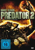Predator 2 - German Movie Cover (xs thumbnail)