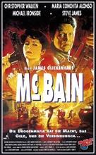 McBain - German VHS cover (xs thumbnail)