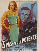 Three Steps to the Gallows - French Movie Poster (xs thumbnail)
