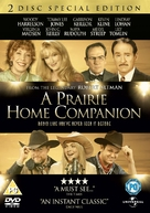 A Prairie Home Companion - British DVD movie cover (xs thumbnail)