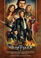 The Three Musketeers - Serbian Movie Poster (xs thumbnail)