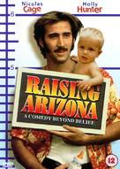Raising Arizona - British DVD cover (xs thumbnail)