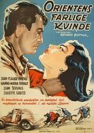 La châtelaine du Liban - Danish Movie Poster (xs thumbnail)