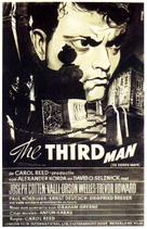The Third Man - Dutch Movie Poster (xs thumbnail)