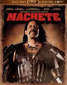 Machete - Blu-Ray cover (xs thumbnail)