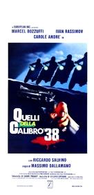 Quelli della calibro 38 - Italian Movie Poster (xs thumbnail)