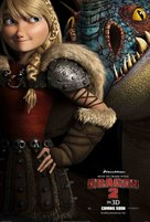 How to Train Your Dragon 2 - International Movie Poster (xs thumbnail)
