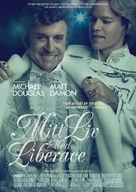Behind the Candelabra - Swedish Movie Poster (xs thumbnail)