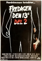 Friday the 13th Part 2 - Swedish Movie Poster (xs thumbnail)