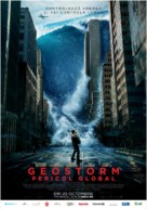 Geostorm - Romanian Movie Poster (xs thumbnail)