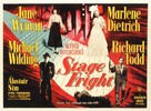 Stage Fright - British Movie Poster (xs thumbnail)