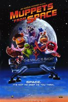Muppets From Space - Video release poster (xs thumbnail)