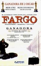 Fargo - Argentinian VHS cover (xs thumbnail)
