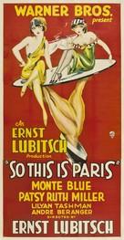 So This Is Paris - Movie Poster (xs thumbnail)