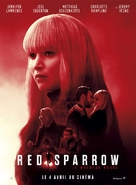 Red Sparrow - French Movie Poster (xs thumbnail)