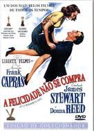 It's a Wonderful Life - Brazilian DVD movie cover (xs thumbnail)