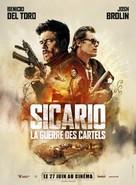 Sicario 2: Soldado - French Movie Poster (xs thumbnail)