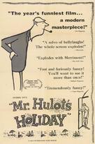 Les vacances de Monsieur Hulot - Movie Poster (xs thumbnail)