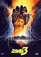 Zombi 3 - German Blu-Ray cover (xs thumbnail)
