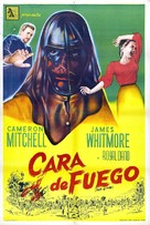Face of Fire - Argentinian Movie Poster (xs thumbnail)