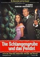 Die Schlangengrube und das Pendel - German Movie Poster (xs thumbnail)