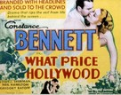 What Price Hollywood? - Movie Poster (xs thumbnail)