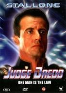Judge Dredd - Dutch DVD movie cover (xs thumbnail)